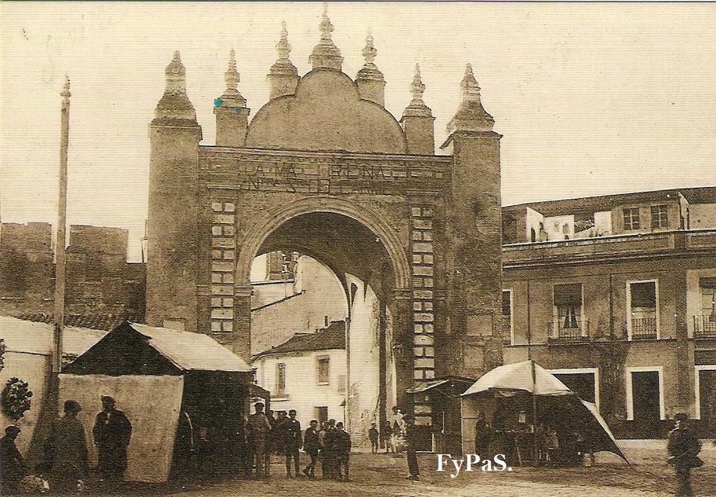 Fotos y postales antiguas de sevilla macarena for Puertas correderas sevilla