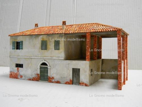 Lo gnomo hobby giochi modellismo scenografie per wargames for Costo per costruire casa colonica