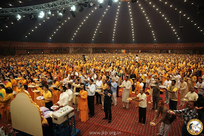 Kripaluji Maharaj's 90th birthday 2012 and bhakti bhawan inauguration