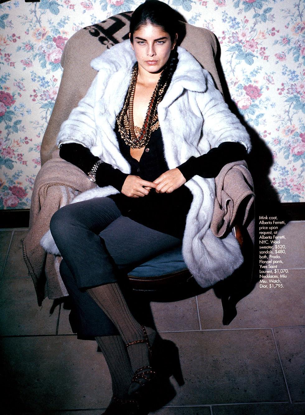 Elle US September 2005 (photography: Manuela Pavesi, styling: Thomas Dunkin)