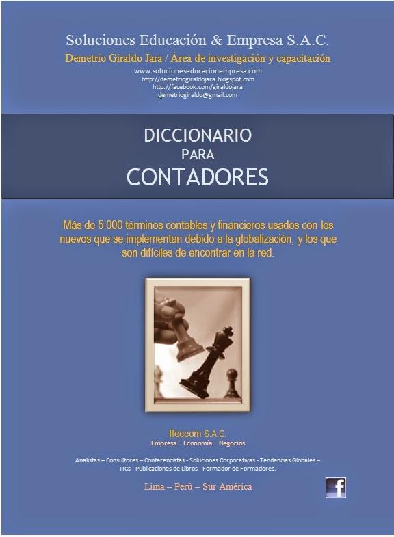 DICCIONARIO CONTADORES