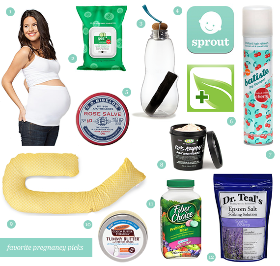 12 Essential Pregnancy Products