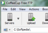 CoffeCup Free FTP Screenshot