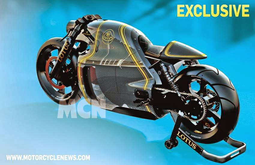 "Lotus C-01 Conept Motorcycle |  Lotus C-01 Concept Overview  The images of Lotus C-01 Conept Motorcycle you see comes from Motorcycle News, apparently this is the official design renderings of the upcoming ""Lotus C-01 motorcycle""."