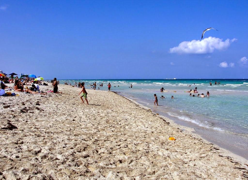 Praia em Miami Beach