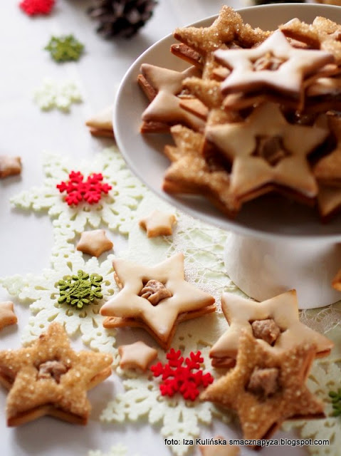 gwiazdeczki kajmakowe , z kajmakiem , krem kasztanowy , reflets de france , carrefour , najlepsze przepisy , najsmaczniejsze dania , domowa cukiernia , cukierenka , ciastka z kajmakiem , domowe jedzenie , najlepsze przepisy , słodkości , do schrupania , deser , deser
