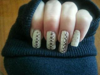 nail art semplice ma d'effetto