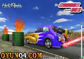Trafik Kurallı Araba Oyunu