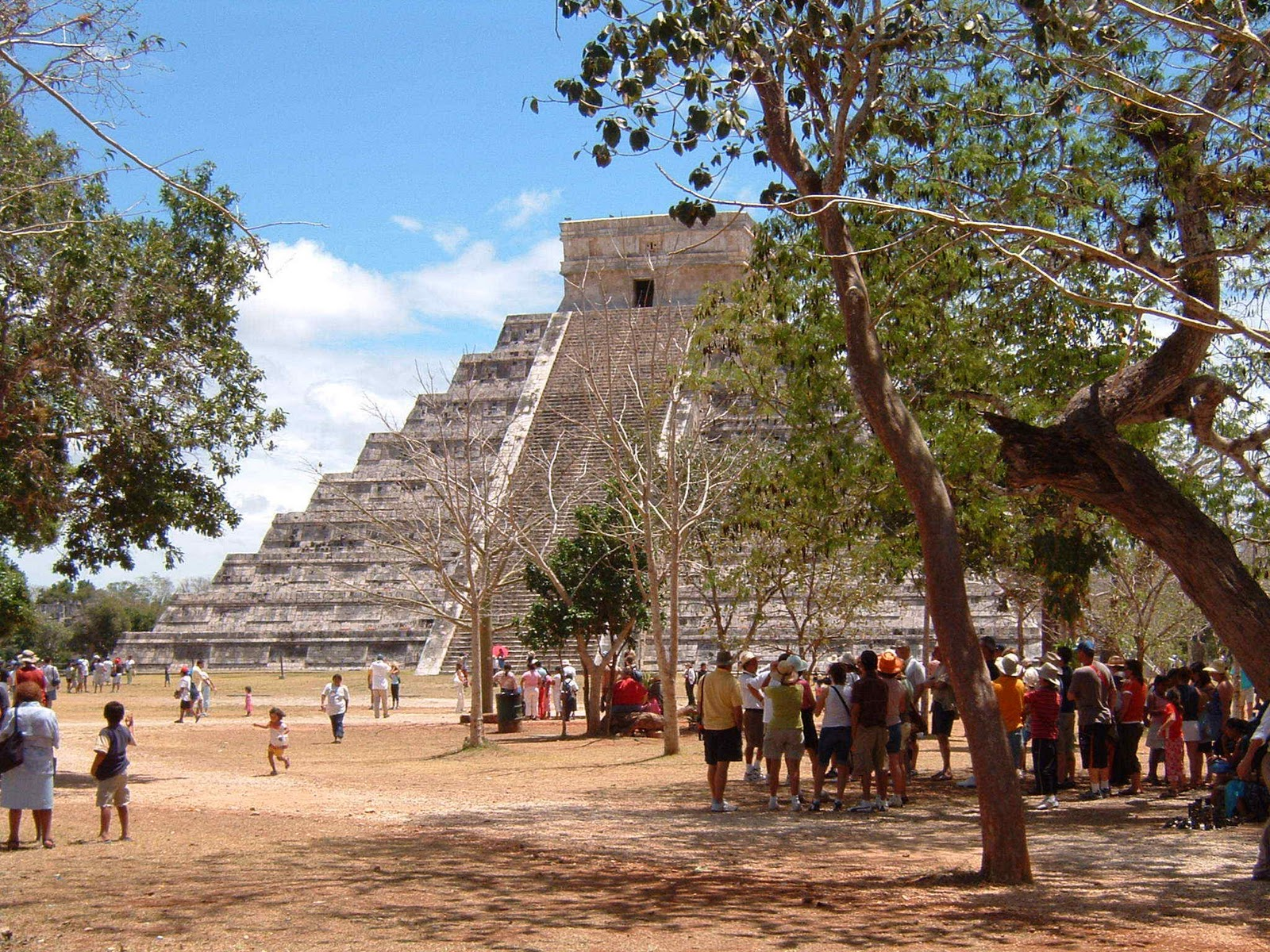 pyramid of kukulkn chichen itza mexico wallpapers - pyramid of kukulkn chichen itza mexico normal wallpapers