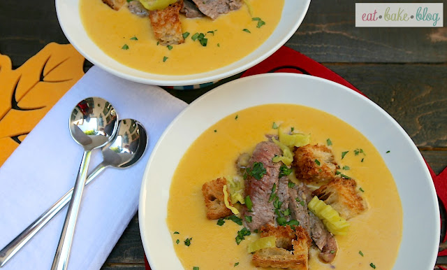Cheesesteak+and+Ale+Soup #Fall4Beef Twitter Party on 9/26 @ 1pm ET!