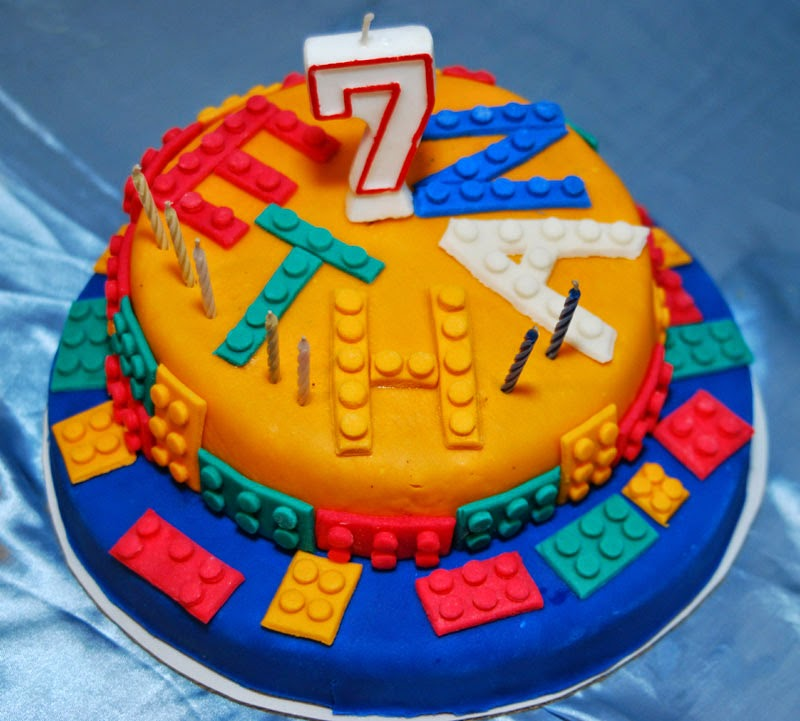 Ethan Ryu S Lego Themed 7th Birthday Party