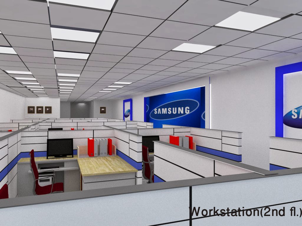 Manjeeta S Interior Works Office Interior For Samsung