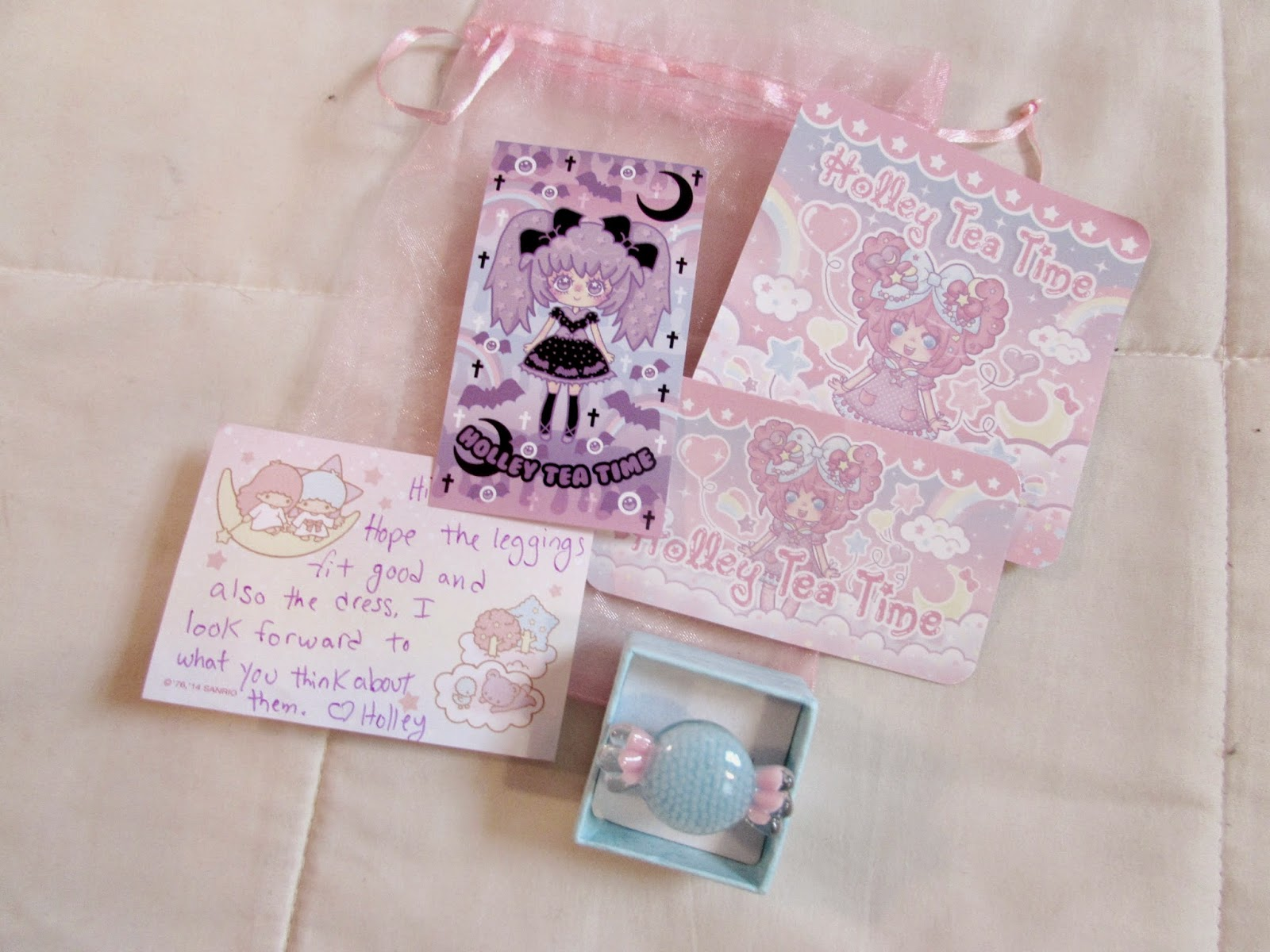 Princes cute revolution holley tea time leggings and dress review the stickers feature two of her kawaii characters one is her traditional sweet character and the other features her creepy cute girl colourmoves