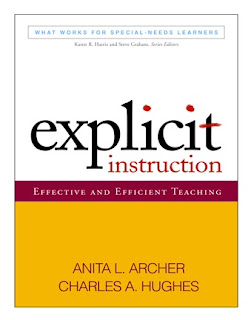 http://www.amazon.com/Explicit-Instruction-Effective-Efficient-Special-Needs/dp/1609180410/ref=sr_1_1?s=books&ie=UTF8&qid=1437181532&sr=1-1&keywords=explicit+instruction