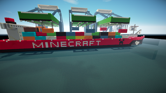 Port on Minecraft - Minecraft Metropolis