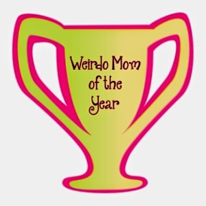 Tales from a 3 year old - weirdo mom trophy ~ thequirkyconfessions.com