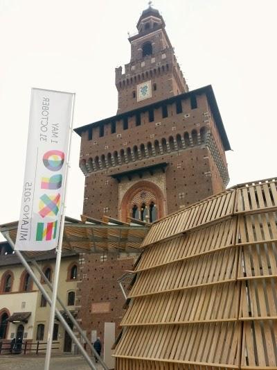 Nuovo padiglione Expo al Castello di Milano