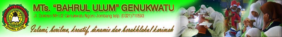 MTs Bahrul Ulum Genukwatu