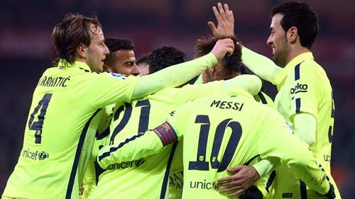 Athletic Club Bilbao vs. Barcelona 2-5 Highlight Goal Liga BBVA 8-02-2015
