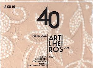 NISA: ARTILHEIROS DE 1975 FESTEJAM 40 ANOS