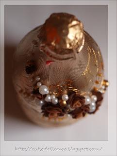 декор бутылок, шоколадное шампанское