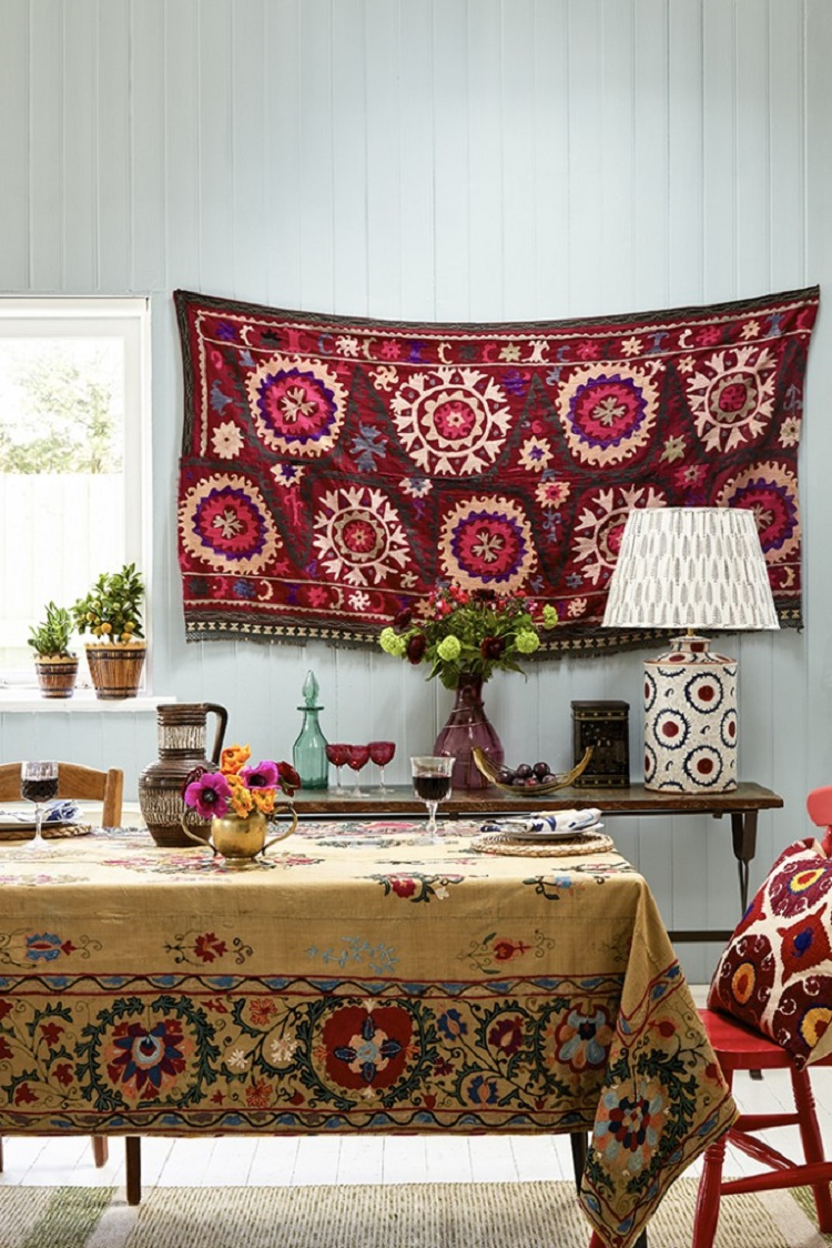 Suzani Wall Hanging/Tablecloth