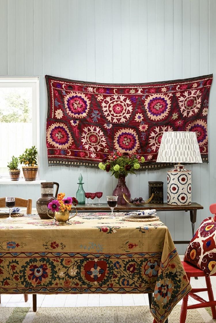 Suzani Wall Hanging/Tablecloth