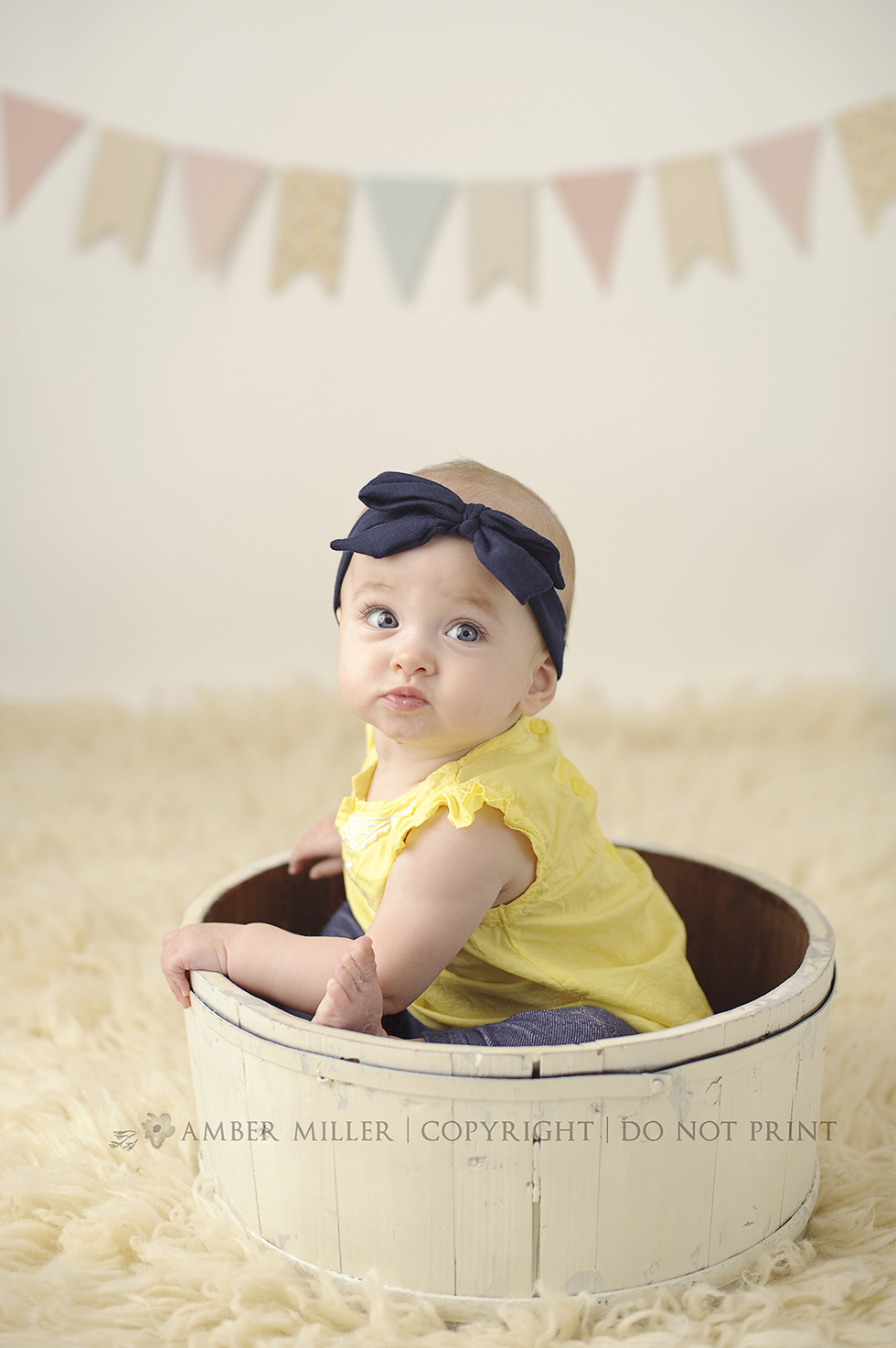 blue eyed baby girl utah baby photographer