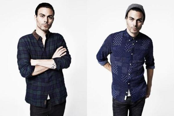 AllSaints F-W 2012/2013 Menswear Lookbook