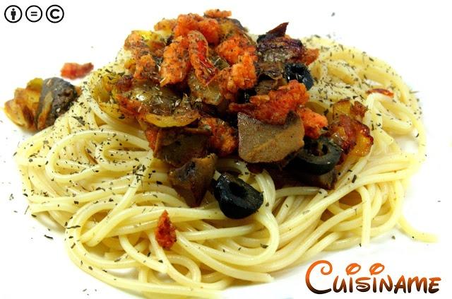 Cuisiname espaguetis picantes recetas originales for Espaguetis para dos