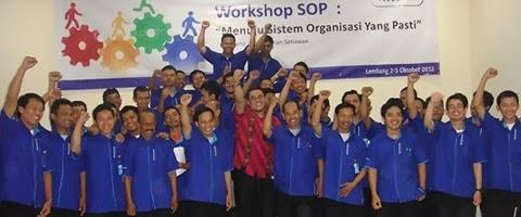 Workshop SOP di Bandung