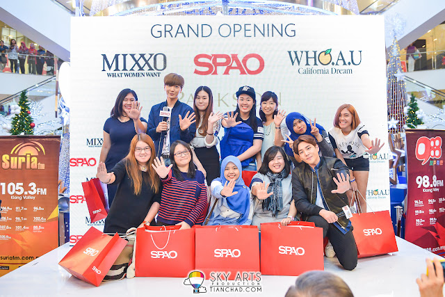 Congratz to all ten lucky winners who got autographed SPAO bags