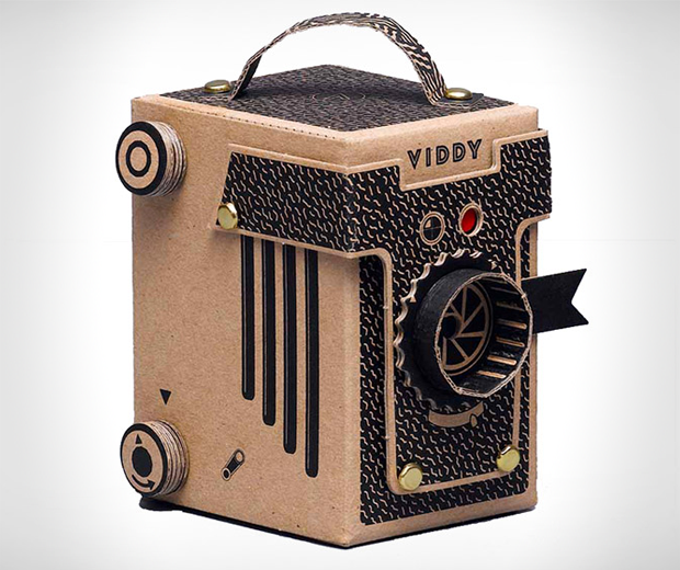 VIDDY do-it-yourself pinhole camera kit