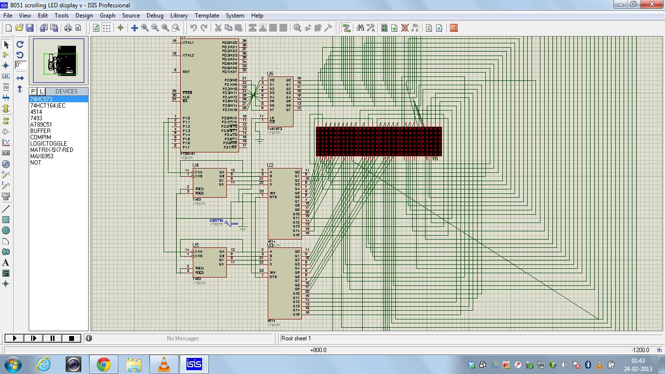 Led Display Using 8051 Microcontroller A Volt Meter Digital Voltmeter Photos