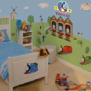 Creative Thoughts bedroom designing and Tom train theme decorating your son or daughters play space