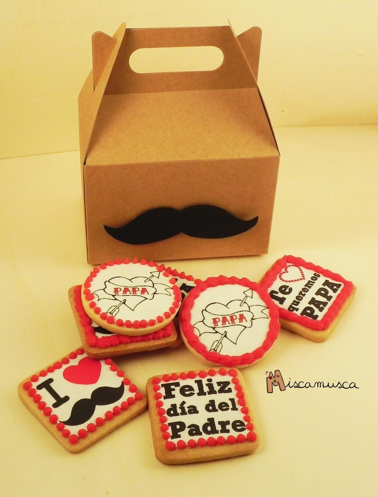 galletas decoradas día del padre