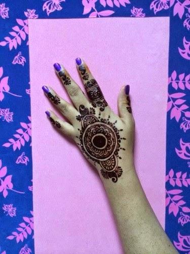 Latest Henna Mehndi Designs 2014-15 For Eid Ul Azha