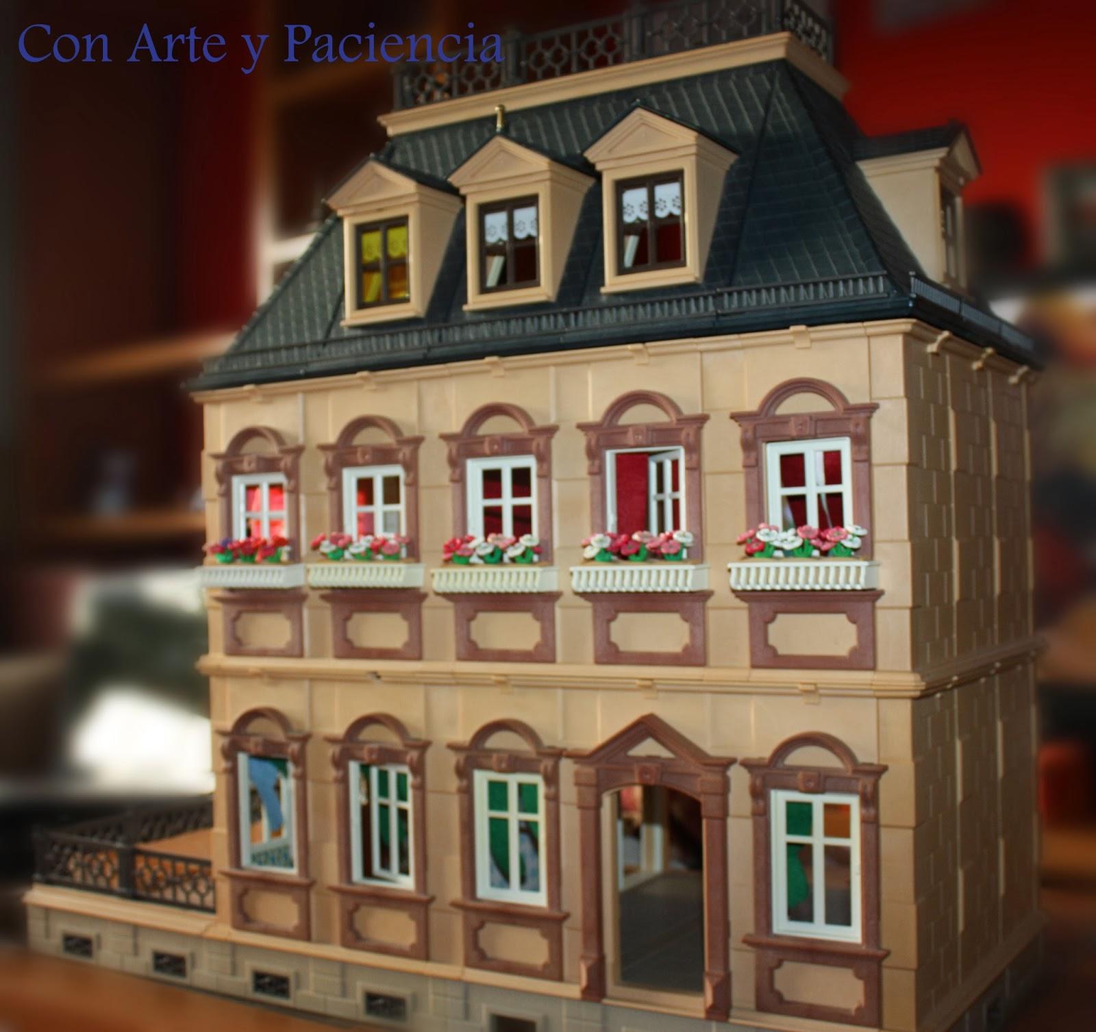 Ante todo con arte y paciencia casa 1900 playmobil for La casa de playmobil