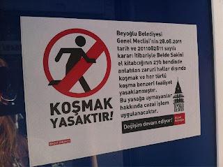 koşmak-yasaktır