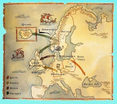 mapa de europa para colorear. HABITANTES DEL NORTE DE EUROPA