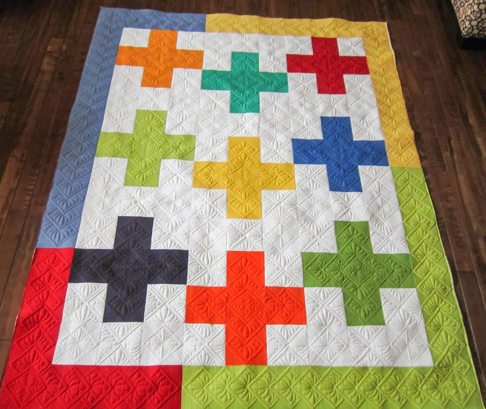 Longarm - Traditional Blocks on Pinterest Quilting, Star Quilts and Longarm Quilting