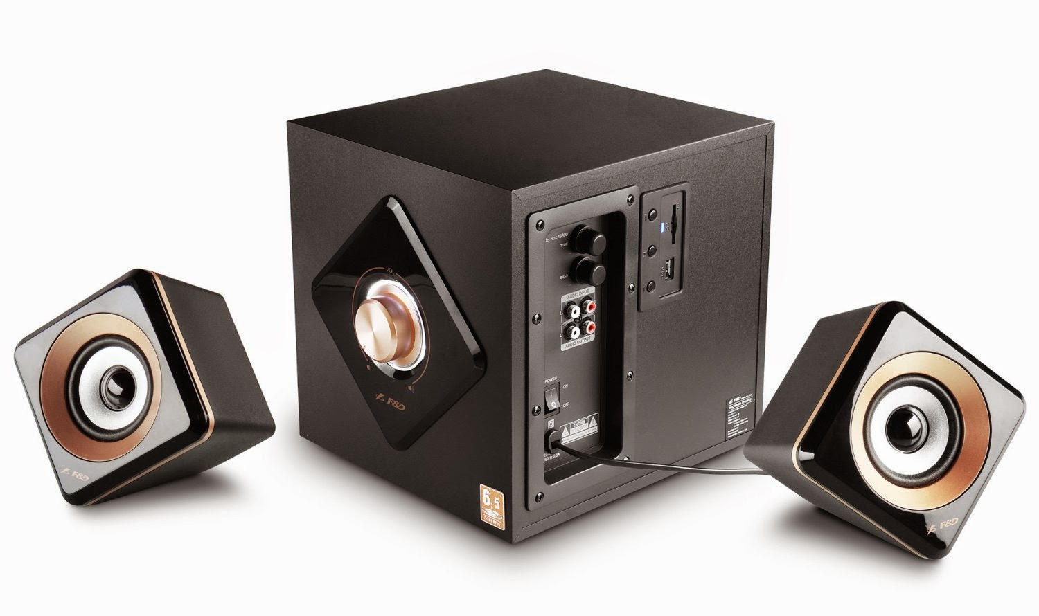 F&D 2.1 multimedia Speakers A 330U for Rs 2119