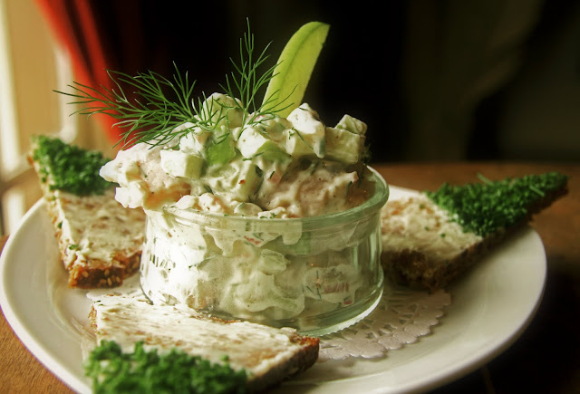 skagen sild danish herring salad