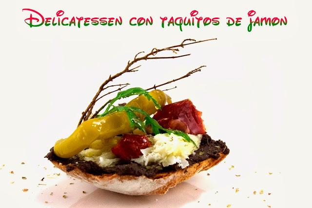 aperitivos, tapas, tostas, carne, queso, tapas originales, pinchos originales, aperitivos fáciles, recetas originales, delicatessen
