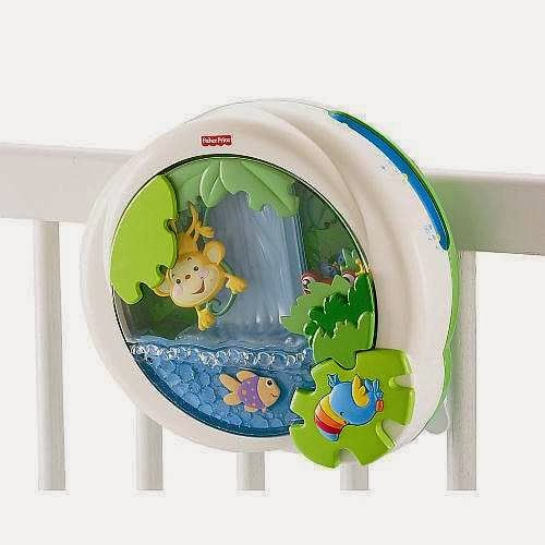 Amayatoys bolivia rainforest waterfall soother de fisher price - Fisher price cuna ...