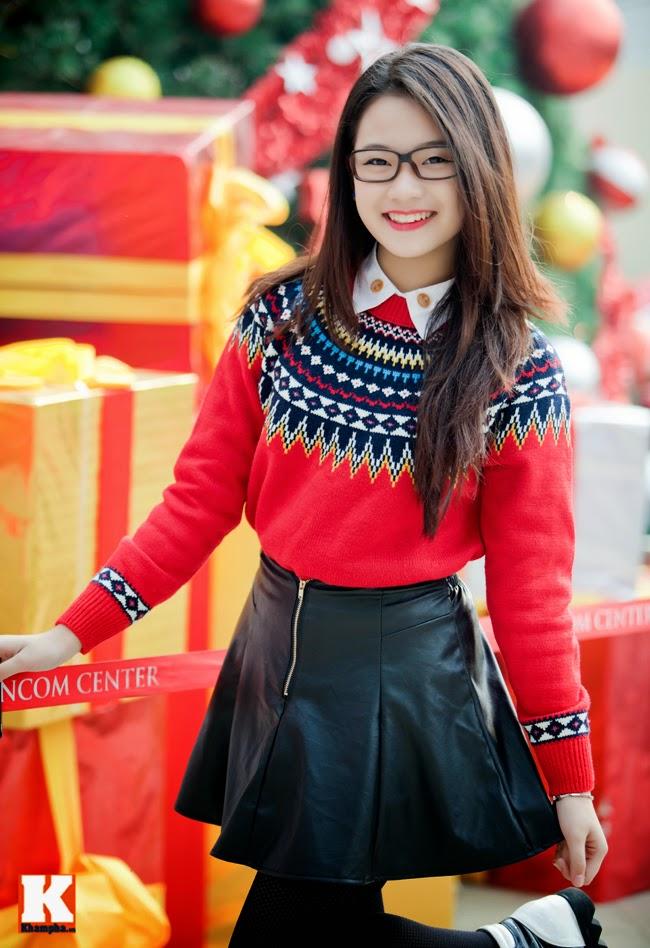Tổng Hợp Hình Girl Xinh Giáng Sinh (Noel)