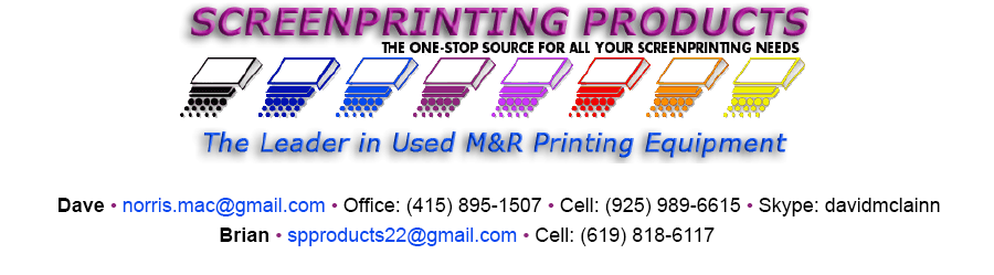 Screenprinting Products