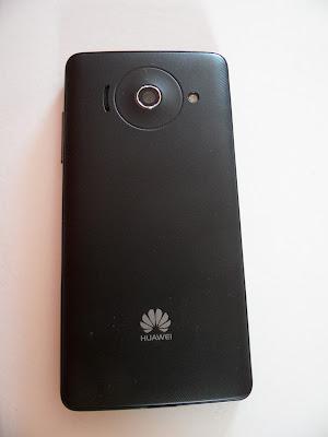Parte trasera del Huawei Ascend Y300