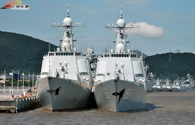 PLAN's 052C Air Defence Destroyers