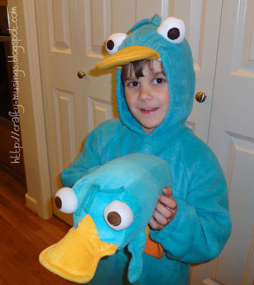 Perry the Platypus holding Perry the Platypus